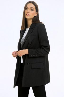 Жакет LaVeLa L30076 графитовый
