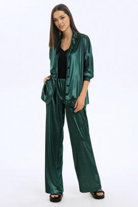 Брюки, Блуза LaVeLa L40042 зеленый