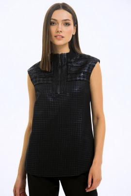 Блуза LaVeLa L50178 черный