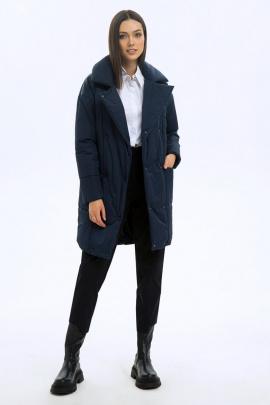 Пальто LaVeLa L70006 темно-синий
