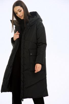 Пальто LaVeLa L70027 черный