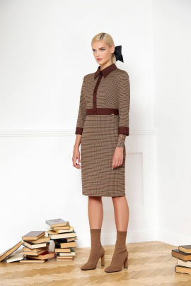 Платье VIZANTI 9315 коричневый