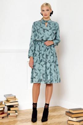 Платье VIZANTI 9302 голубой