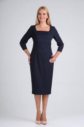 Платье Vilena 732 темно-синий