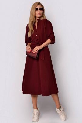 Платье PATRICIA by La Cafe F14909 винный