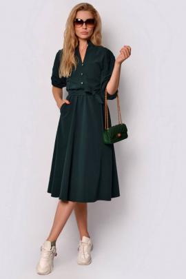 Платье PATRICIA by La Cafe F14909 зеленый