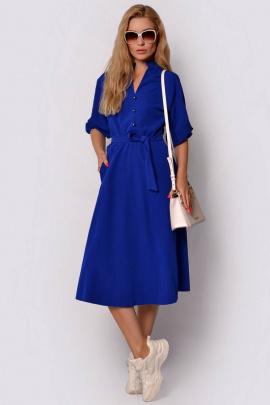 Платье PATRICIA by La Cafe F14909 ярко-синий
