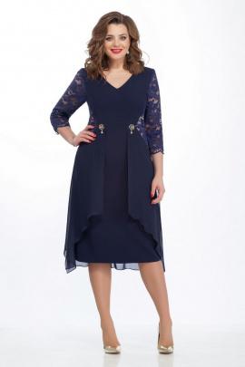 Платье TEZA 121 синий