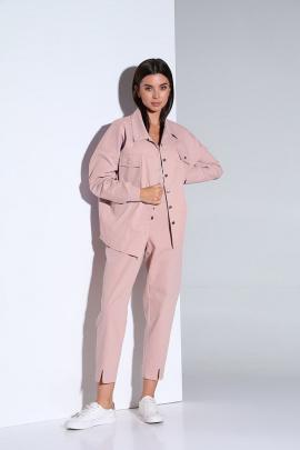 Женский костюм Andrea Fashion AF-158 розовый