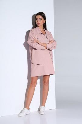 Женский костюм Andrea Fashion AF-159 розовый