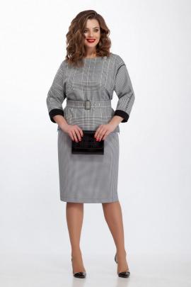 Блуза, Юбка TEZA 130 серый