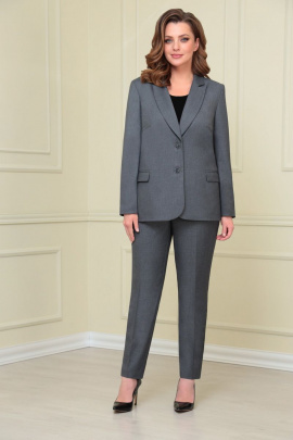 Женский костюм VOLNA 1205а серый