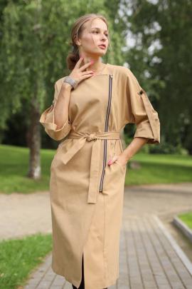 Платье YFS 5102 кэмел