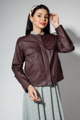 Куртка YFS 6207 баклажан