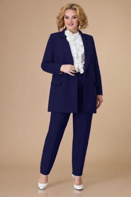 Женский костюм Svetlana-Style 1581 молочный+темно-синий