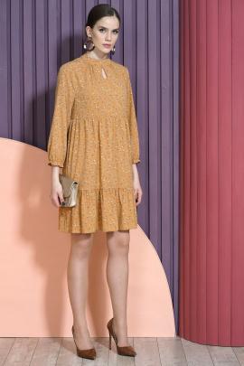 Платье Alani Collection 1465 кэмел