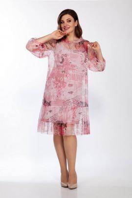 Платье LaKona 1402 пудра