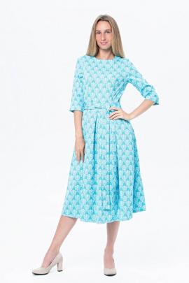 Платье BirizModa 15767 голубой