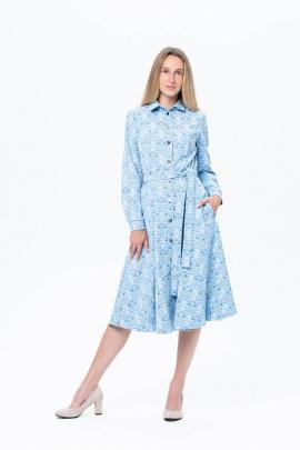 Платье BirizModa 15769 голубой