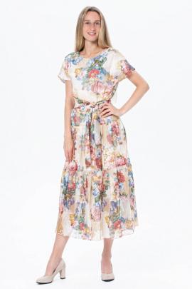 Платье BirizModa 21С0023 бежевый