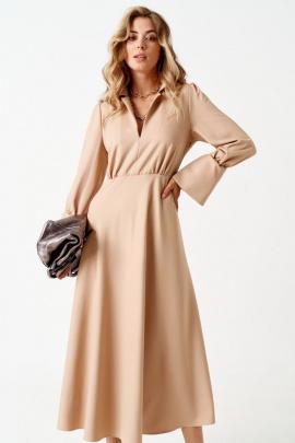 Платье ELLETTO LIFE 1850 бежевый