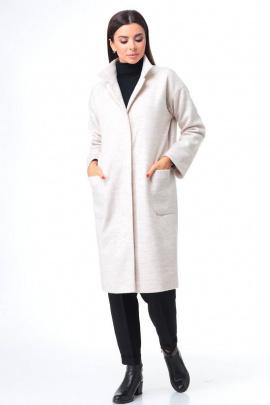 Пальто T&N 7087 жемчуг
