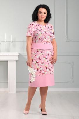 Женский костюм MadameRita 5153 розовый