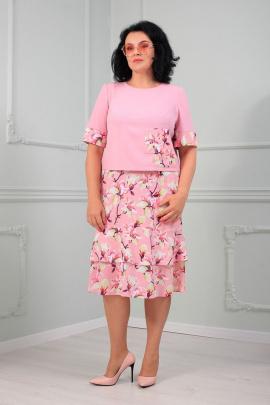 Женский костюм MadameRita 5146 розовый