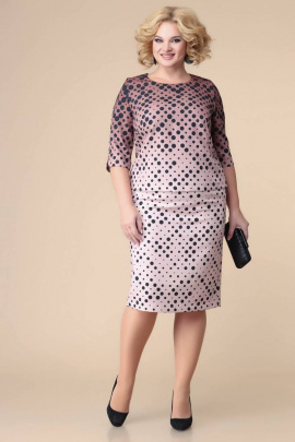 Блуза, Юбка Romanovich Style 2-2189 верх_коричневый