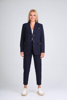 Женский костюм Vilena 725 темно-синий