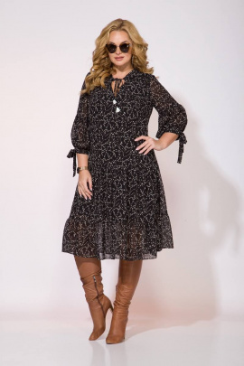 Платье Liliana 921L черный
