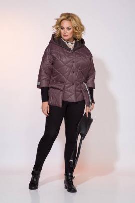 Куртка Liliana 991 сливовый