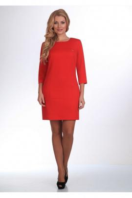 Платье ELGA 01-385 красный