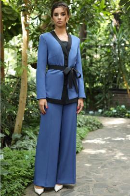 Женский костюм Мода Юрс 2696 синий