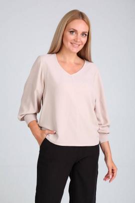 Блуза FloVia 1034 бежевый