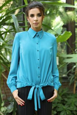 Блуза Мода Юрс 2698б бирюза