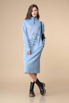Платье Romanovich Style 1-2205 голубой