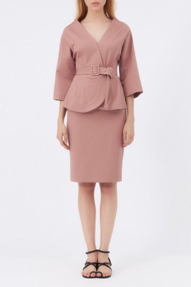 Женский костюм Favorini 12988 розовый