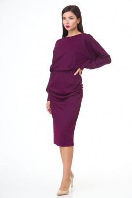 Платье Anelli 459 слива