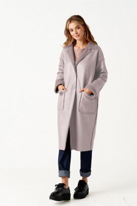 Пальто ELLETTO LIFE 3510 серый