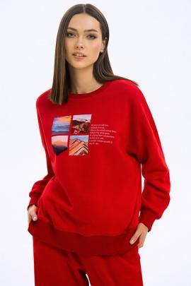 Свитшот LaVeLa L50250v28 красный