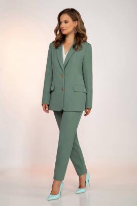 Женский костюм Dilana VIP 1810 светло-бирюзовый