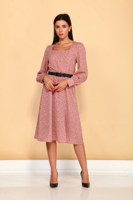 Платье Juliet Style Д214 розовый