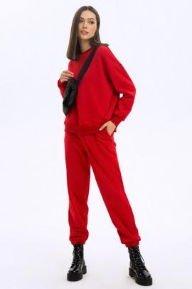 Спортивный костюм LaVeLa L40048 красный