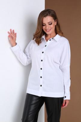 Блуза Andrea Style 0403 белый