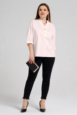 Блуза Prio 485143 пыльно-розовый