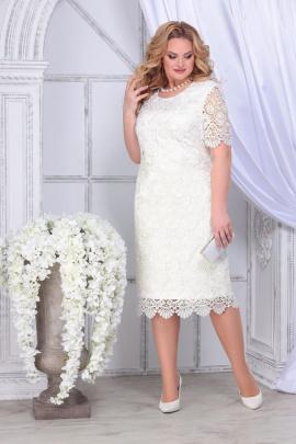 Платье Ninele 2296 молочный