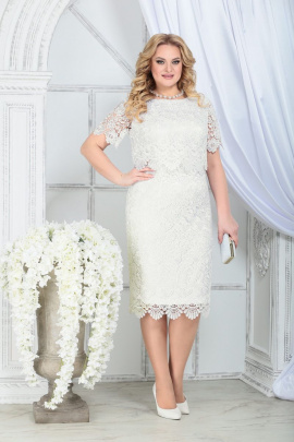 Платье Ninele 5843 молочный