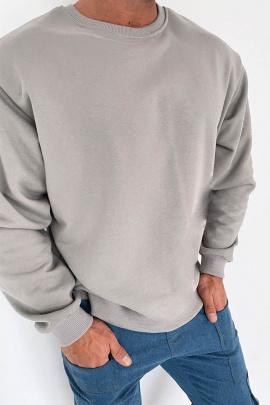 Джемпер Rawwwr clothing 229-начес серый.однотон
