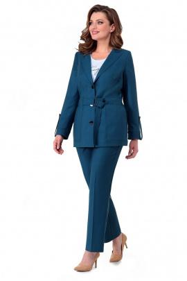 Женский костюм Мишель стиль 984 индиго